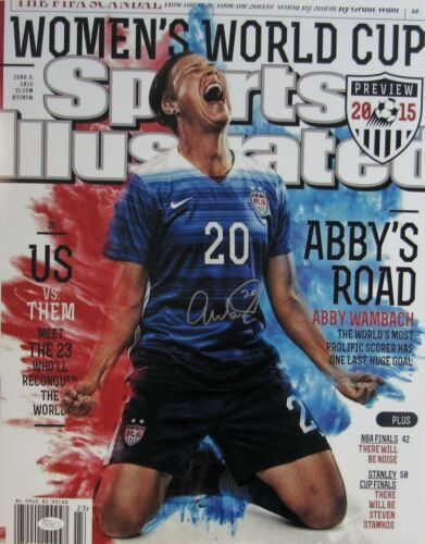 Abby Wambach USA USWNT Signed//Autographed SI Cover 16x20 Inch Photo JSA 140126