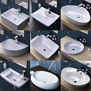 Sogood-Design-Keramik-Waschbecken-Aufsatzwaschbecken-o-Wandmontage-Waschschale