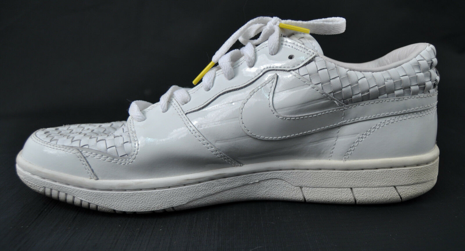 premium selection 8e127 4b236 ... Nike Court Force Low Caol Uno Woven Woven Woven White Shoes 11 Mens  6ec655 ...