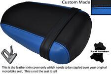 BLACK &LIGHT BLUE CUSTOM FITS SUZUKI 600 750 GSXR 08-10 K8 K9 L0 REAR SEAT COVER