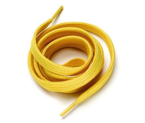 Lacci piatti Laccio per Scarpe lunghezza Cm.120 Diadora Utility colore Giallo