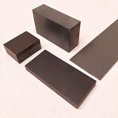 "6/"" Diameter Gray PVC Type 1 Plastic Rod-Priced Per Foot-Cut to Size!"