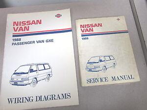 1988 nissan van service repair manual set model c22 series ebay rh ebay ie Sunny Nissan C22 C24 Nissan