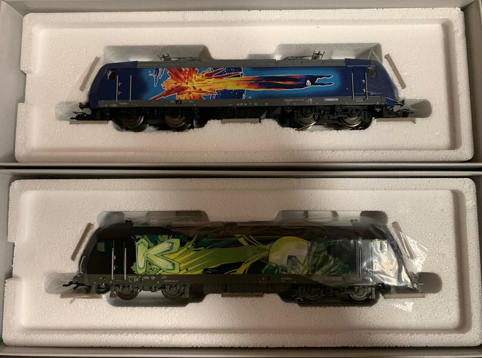 Märklin H0 36837 LOK DoppelVerpackungung Superman Lex Luther digital 1. FC Märklin