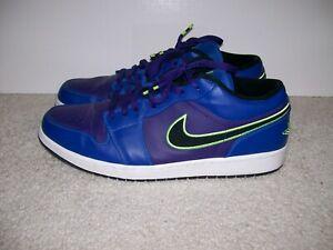 lepszy sklep dyskontowy zaoszczędź do 80% Details about SZ13 Nike Air Jordan 1 Low Hi OG Game Royal 553558-408 Bred  Chicago Top 3 IV XI