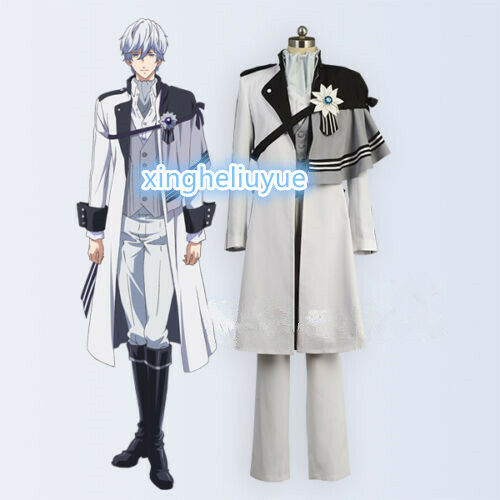 Details about  /B-PROJECT Kitakado Tomohisa White Uniform Outfit Cosplay Costume Free shipping