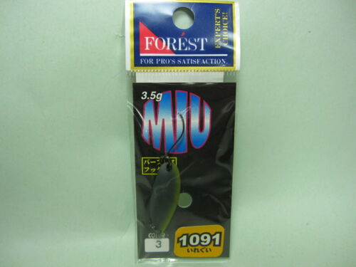 Restock 30110 FOREST MIU 3.5g 1091 LIMITED Color Trout Spoons