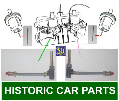 """LH /& RH chorros /& STD /""""un/"""" Agujas 1 1//4 /""""HS2 su CARB-MG Midget Mk2 1098 1964-66"""