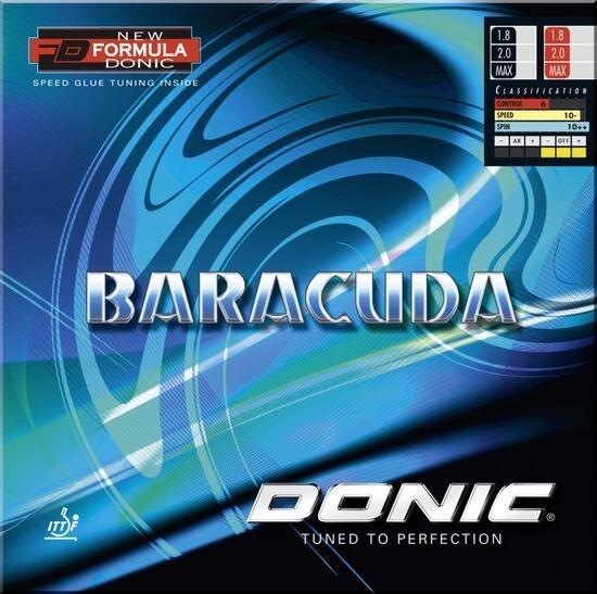 Donic Donic Donic Baracuda  Tischtennis-Belag Tischtennisbelag    Fein Verarbeitet    Ich kann es nicht ablegen     Neuer Markt  7f6ece