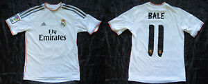 Gareth Bale  11 REAL MADRID home jersey shirt ADIDAS 2013-14 ... 3a4e47531