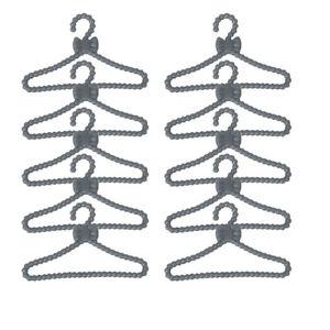 50pcs-Plastic-Clothes-Rack-Coat-Hanger-Wardrobe-Hangers-for-Dolls-Gifts