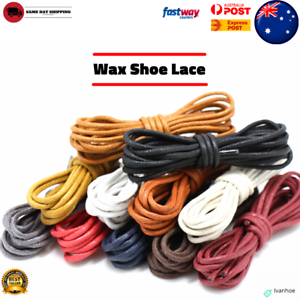Premium-Cotton-Wax-Shoelaces-Thin-Round-Dress-Waxed-Laces-2-5mm-For-Dress-Shoes
