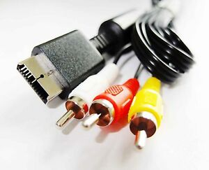 PLAYSTATION-3-PS-PS3-COMPOSITE-AV-AUDIO-VIDEO-RCA-LEAD-CABLE-1-8-Metre-UK-Seller