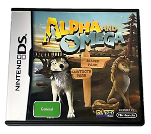Alpha and Omega Nintendo DS 2DS 3DS Game *Complete*