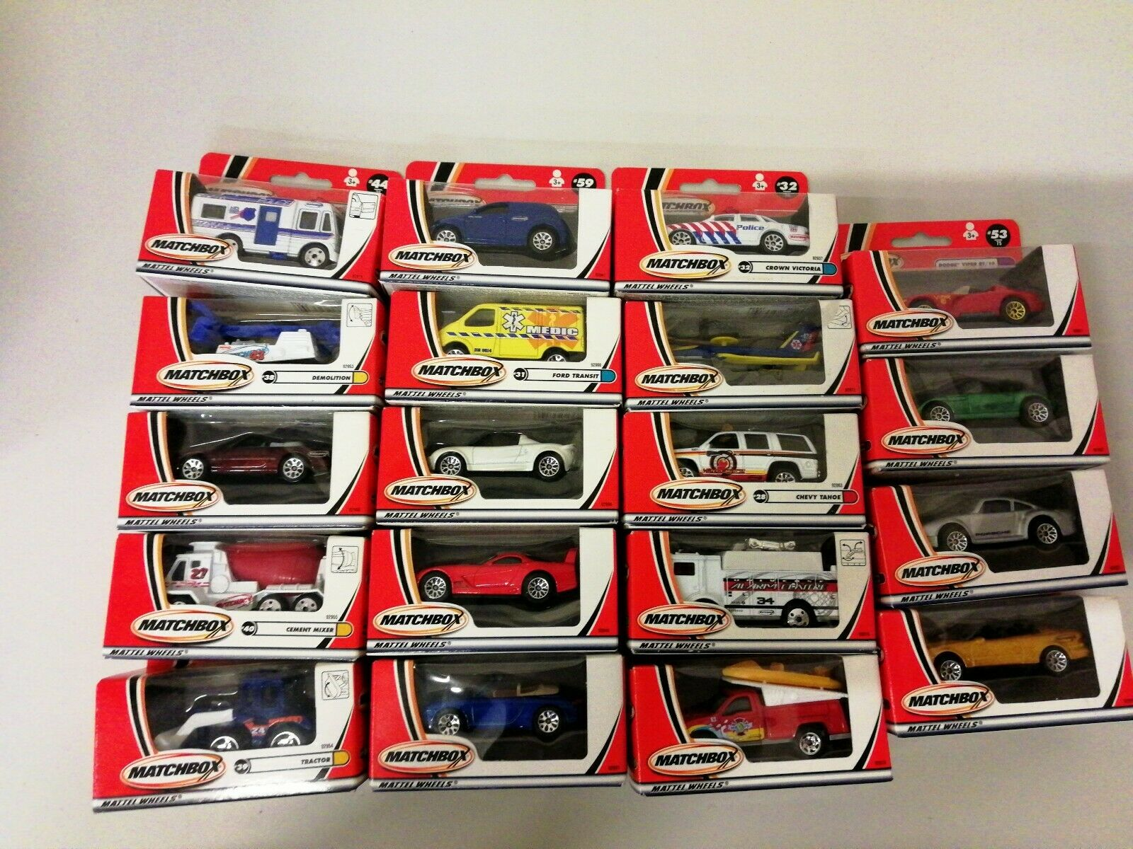 Matchbox Bundle Of 19 Boxed Models (12)
