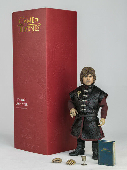 Game of Thrones Tyrion Lannister Peter Dinklage Action Figure 1/6 Threezero