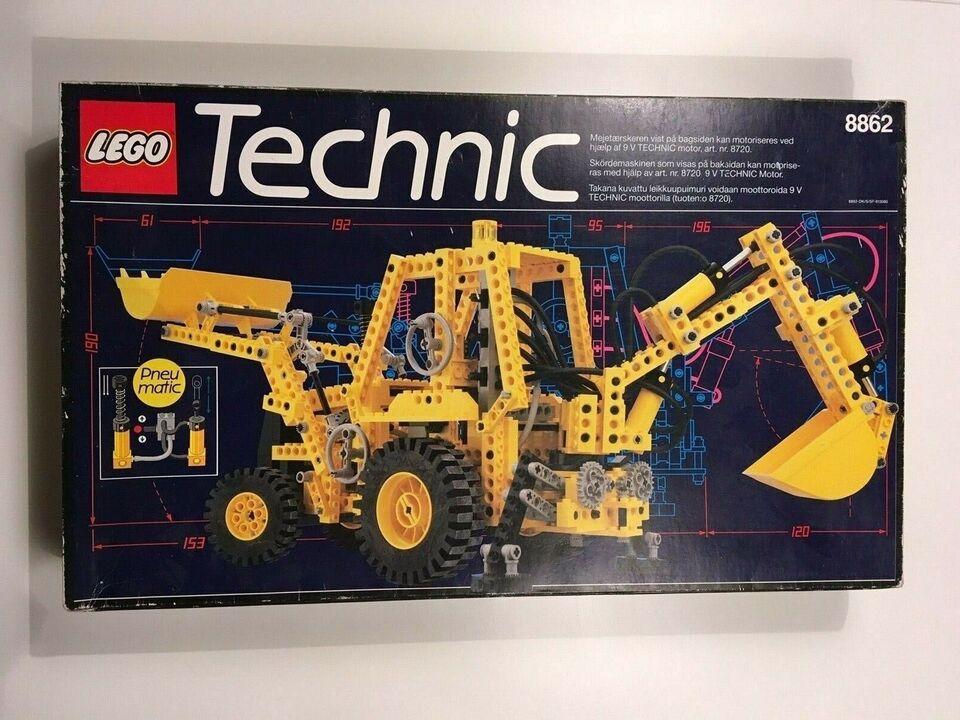 Lego Exclusives, Lego 8862 Blackhoe Grader uåben