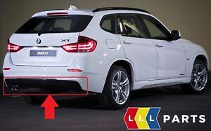 Nuevo-Original-BMW-X1-serie-E84-M-Parachoques-Trasero-Recortar-Difusor-Aleron-8038993
