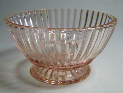 Available Queen Mary Footed Custard Pink Depression Glass Anchor Hocking Sev