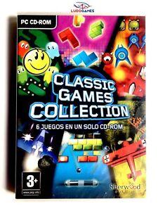 Classique-Jeux-Collection-PC-Neuf-Scelle-Videojuego-Videogame-Nouveau-Retro-Spa