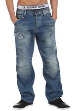 "G-Star Raw Mens General 5620 Loose Jeans 28"" x 30"" BNWT Nitro Denim Sun Bleached"
