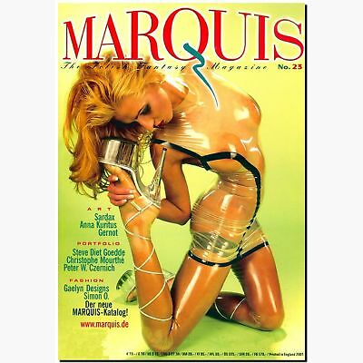 Marquis 23 2001 Fetish Magazin Lack Latex Gummi BDSM EROTIK MODE Peter Czernich