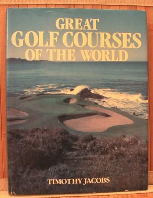 Great Golf Courses Of The World Hardcover Coffee Table Book