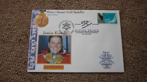 2002-WINTER-OLYMPIC-GOLD-MEDAL-WIN-COVER-JANICA-KOSTELIC-CROATIA-SKIING-1