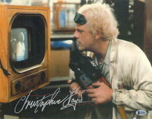 CHRISTOPHER-LLOYD-SIGNED-11X14-PHOTO-BACK-TO-THE-FUTURE-DOC-BROWN-AUTO-BECKETT-H