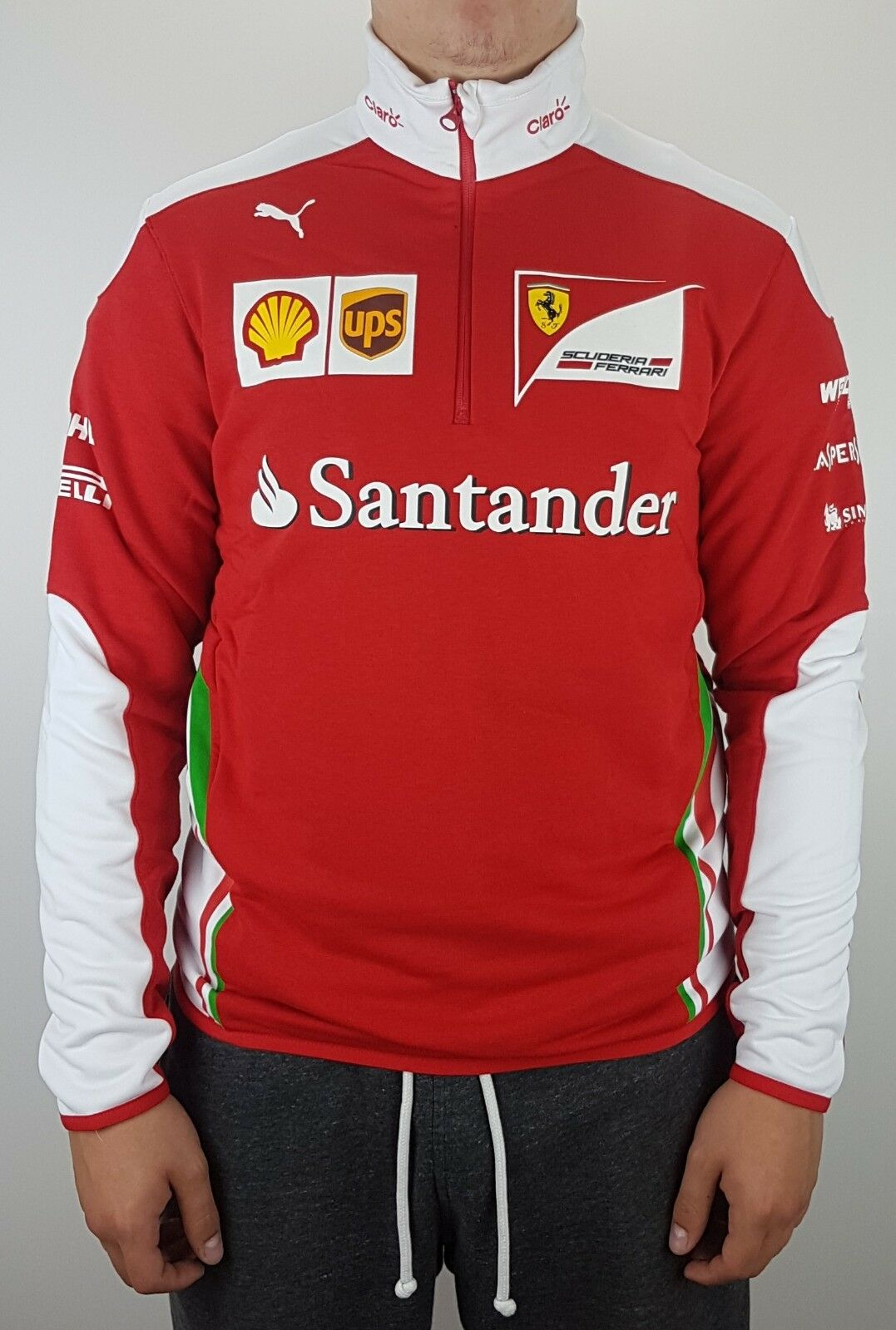 Puma Scuderia Ferrari Formel 1 SF SF SF Team Half-Zip Fleece Sweater Sweatshirt Rot    | Reichhaltiges Design  7e4f97