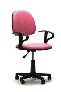 Sedia Da Ufficio Casa Colore Rosa