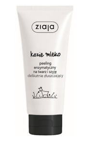 Ziaja GOAT'S LATTE enzima peeling Scrub per viso e collo