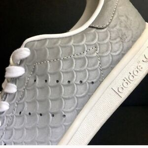 Details about adidas Stan Smith Reflective Mermaid Shoes