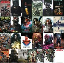DCEASED 1-2-3-4-5-6 ALL cover Variants Mix n' Match set PLUS GOOD DAY Add-ons