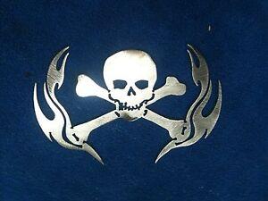Skull Man Cave Decor : Skull wall decal halloween decals crossbones