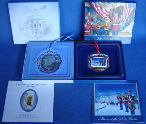 THE WHITE HOUSE HISTORICAL ASSOCIATION CHRISTMAS ORNAMENTS ...