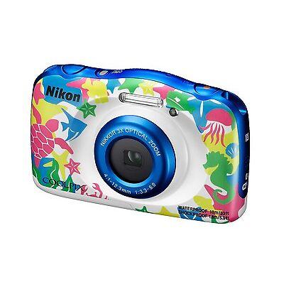 Kompaktkamera (wasserdicht) Nikon COOLPIX W100 13,2 MP - MARINE , 3x Zoom