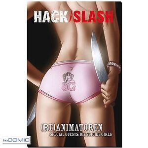 Hack-Slash-5-Re-Animatoren-Tim-Seeley-9783941248861-EROTIK-HORROR