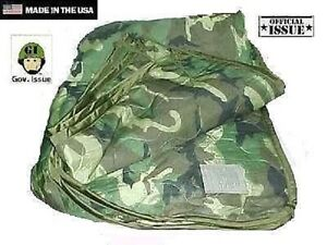 Us-Army-USGI-Woodland-Mimetico-Esterno-Coperta-Liner-Poncho-Liner-Woobie-Coperta