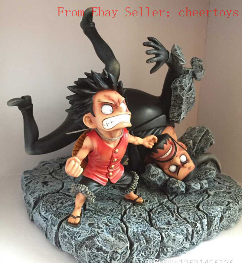 estar en gran demanda SD One Piece Monkey Monkey Monkey D Luffy Figura Escultura Modelo vs azulno AK Studio  Más asequible