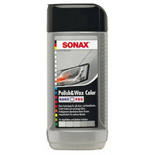 SONAX Polish & Wax Color Nano Pro SILVER / GREY color car 250 ml / 8.5 oz