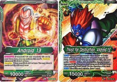 Thirst For Destruction Android 13 BT3-056 UC FOIL Dragonball Super