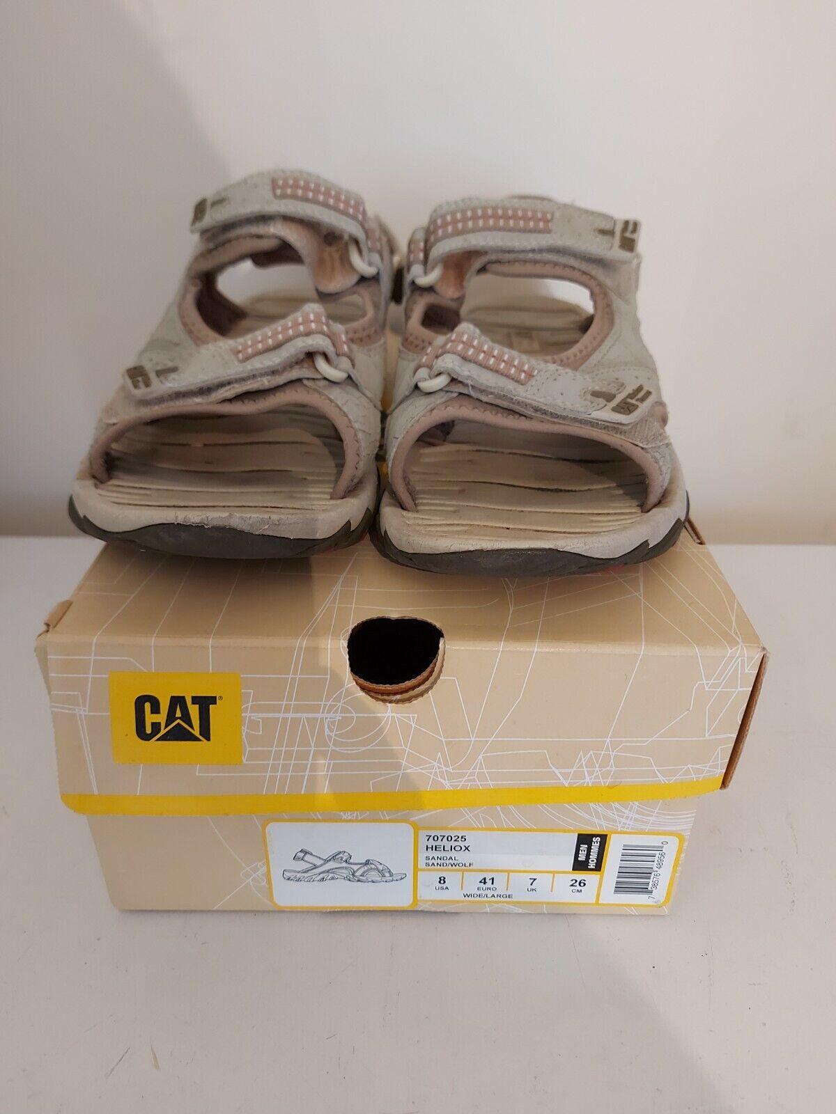 Catterpillar Sandals Heliox uk size 7 boxed