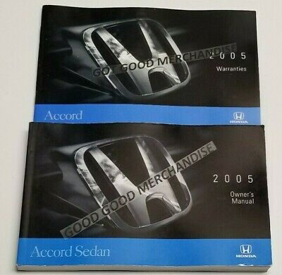 2007 HONDA ACCORD SEDAN VP SE LX EX EX-L V4 2.4 V6 3.0 OWNERS MANUAL USER 07