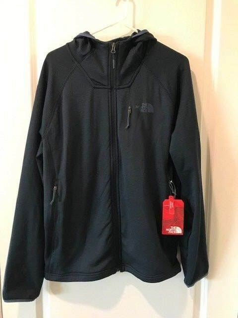 223303f9a The North Face Mens Borod Full Zip Hoodie NWT L Hike Navy MSRP $99.00