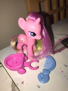 My-Little-Pony-G4-2011-Lulu-Luck-Figure-Carriage-Comb-Rare