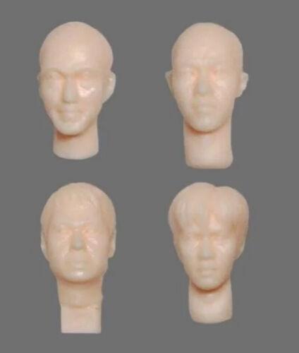 Resin Figure Kit 1//20 Ma.K Head Set Unpainted Garage Resin Model Kit