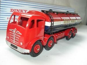Atlas-Dinky-Supertoys-RED-Mk2-Foden-Regent-Tanker-No-942-Mint-Boxed-1-43