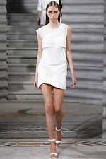 90% OFF: Jay Ahr SS14 White Mesh Studded Wave Mini Skirt NWT SzXS/UK6 £900