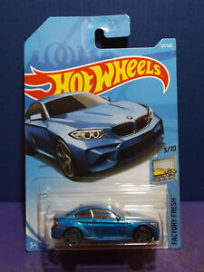 Image Is Loading 2018 Hot Wheels 2016 Bmw M2 In Blue